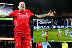Top góly Premier League: Drsný stoper? Škrtel ozářil Anglii famózním volejem!