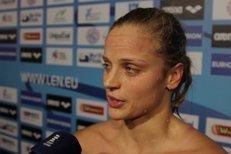 Baumrtová skončila na 50 metrů šestá: Je to progres