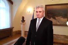 Šéf Senátu Milan Štěch po jednání s čínským prezidentem