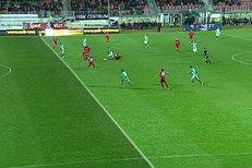 Brno - Bohemians: Schickovi sebral gól chybně odmávaný ofsajd