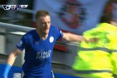 SESTŘIH Premier League: Sunderland - Leicester 0:2, dvakrát udeřil Vardy