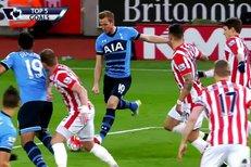 TOP 5 gólů Premier League: Předvedli se Kane, Vardy i Agüero