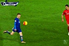 TOP 5 gólů sezony v Premier League: Krajule Vardyho dělovka z dálky