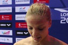 Plavkyně Baumrtová po pátém místě na ME: Vyhnila jsem jako vždycky