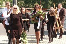 Veronika Žilková pohřbila exmanžela, tatínka synů Vincenta a Cyrila!