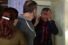 Davidovi ujedou nervy a na Zdenu začne křičet, což se samozřejmě nelíbí jejímu příteli Andrejovi, který mu bez zaváhání dá jednu pěstí.