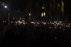 Sestřih oslav z podhradí: Tisíce lidí zaplnily Staromák
