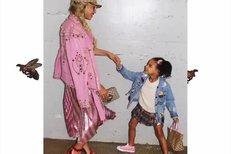 Beyoncé s dcerkou Blue Ivy