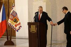 Miloš Zeman: Proč znovu kandiduje? Celý záznam jeho tiskovky