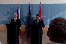 Premiér Bohuslav Sobotka k setkání lídrů v Liberci