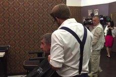 Andrej Babiš si před veselkou zašel k holiči