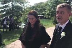 Babiš a jeho svatební koordinátorka