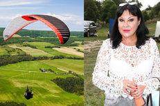 Smrt Marty (†59) na paraglidu natočili. A nestydatá Dáda na dovolené, co řekla o fotkách?