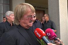 Karel Vágner na pohřbu Ivo Pavlíka (+84): Tajemství jeho největšího úspěchu!