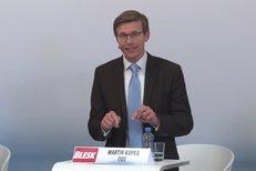 Martin Kupka (ODS) představil vizi strany pro oblast dopravy, bydlení a životního prostředí.