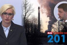 Velká část znečištění přichází z Polska, varovali v debatě politici. A Šlechtová promluvila o špatné spolupráci