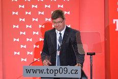 Jiří Pospíšil - projev na sněmu TOP 09