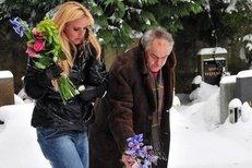 Vendula Svobodová byla u Karlova hrobu s cizím mužem