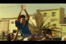 Africký Hamšík Dedé ve slovenské reklamě