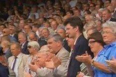 Berdych rozesmál i roztleskal celý Wimbledon
