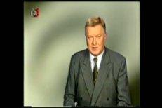 Ve věku jednašedesáti let zemřel legendární hlasatel Miloš Frýba.