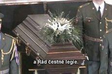 Pohřeb Dienstbiera, hovoří Prášek