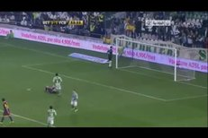 Lionel Messi neproměnil proti Betisu Sevilla penaltu