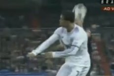 Ronaldova finta v zápase se San Sebastianem