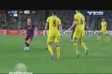 Lionel Messi se nádhernou brankou postaral o vedení Barcelony