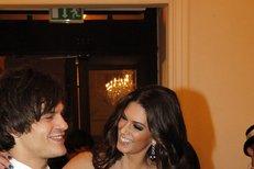 Při galavečeru vyhlašování České miss 2011 se od sebe David s Anetou nehli ani na krok