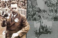 Takhle legendární Josef Laufer referoval z finále světového šampionátu v Itálii v roce 1934. Jako první Evropan v přímém přenose
