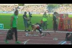 V Ostravě závodil i Jihoafričan Oscar Pistorius, který v necelém roce přišel o obě nohy