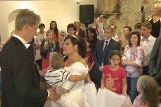 Svatební mejdan Ilony Csákové