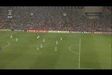 O osudu utkání rozhodl první brankou Lionel Messi