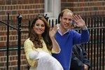 Nejsledovanější porod roku: Jak se rodí princezny aneb o co se jí hned postarala prababička?