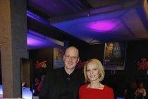 První společné foto Kristiny s Karlem.