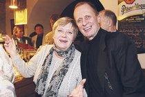 Jaroslava Obermaierová byla hercova školní láska.