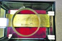 V ČNB otevřeno: Zlatá cihla za 12 milionů!