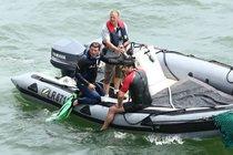 Z natáčení Pevnosti Boyard: Celebrity chrání potápěči!