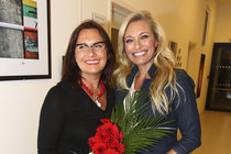 Alena Borhyová s dcerou Lucií.