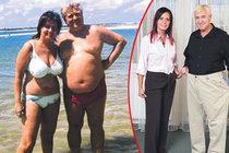 Eva (45) & Vašek (62): Zhubli 50 kg za tři měsíce!