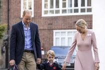 Velký den prince George: Kde byla Kate?
