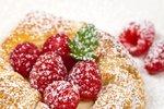 Rychlé malinové koláčky