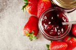 Domácí jahodový topping