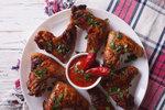 Kuřecí křídla s chilli omáčkou