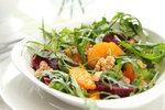 Salát s červenými pomeranči