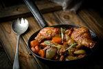Lesní houby dodají kuřecímu masu dokonalou chuť a vůni.