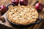 Tvarohový koláč s jablky
