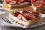Rychlý koláč s jahodami