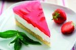 Jahodovo-jogurtový dort